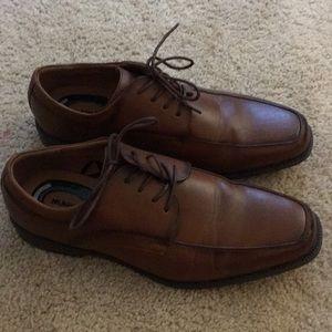 Nunn Bush Brown Dress Shoes